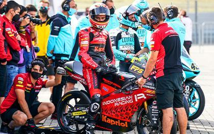 REV'IT! Rider Jeremy Alcoba