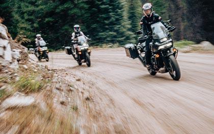 Por Idaho con la Harley-Davidson Pan America