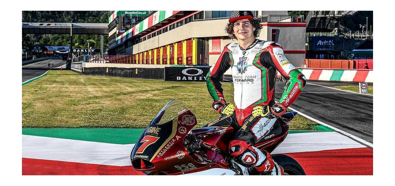 REV'IT! Rider Lorenzo Baldassari