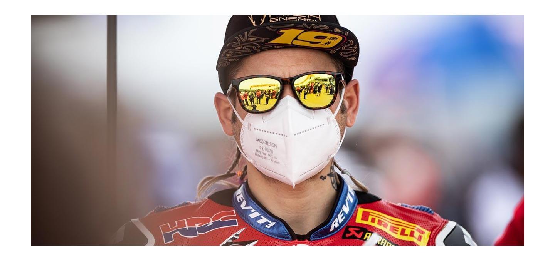 REV'IT! Rider Alvaro Bautista