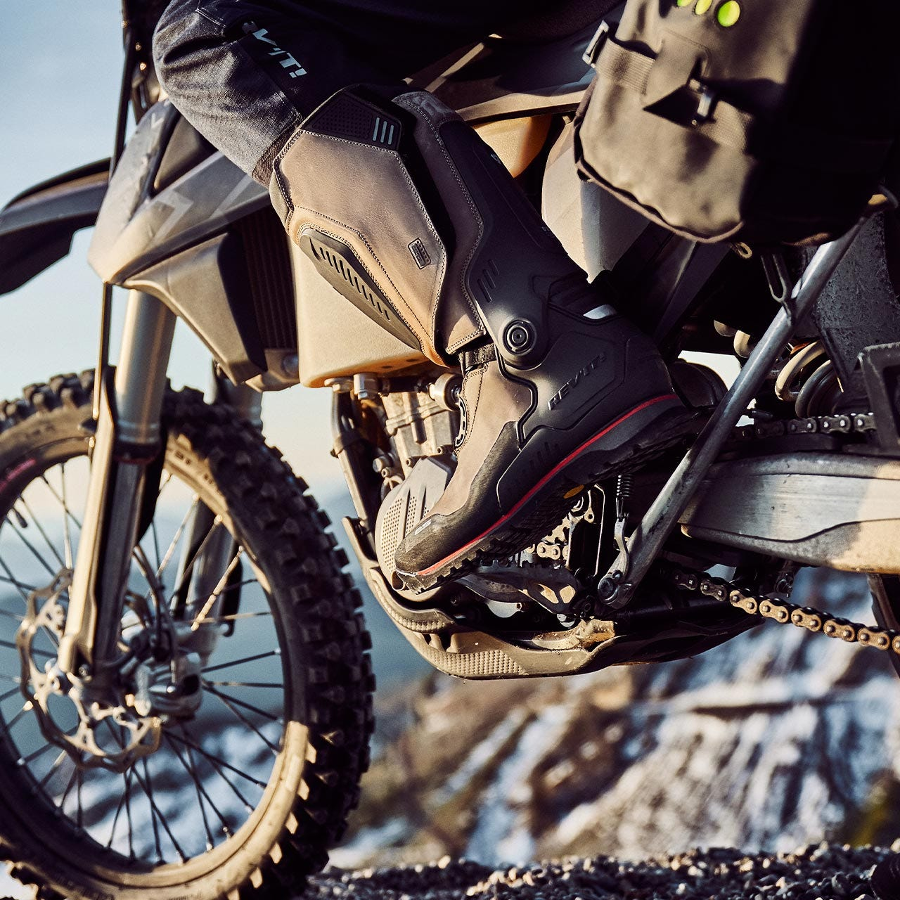 Expeditions motorcycle boots